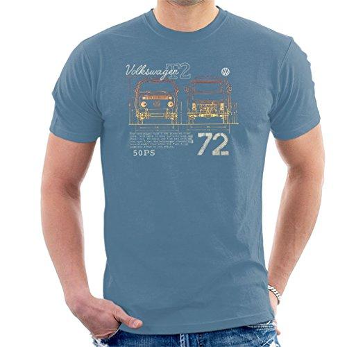 Volkswagen T2 Mini Van 72 Men's T-Shirt for sale  Delivered anywhere in UK