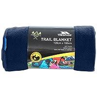 Trespass Snuggles, Navy Blue, Soft Warm Fleece Sleeping Blanket 180cm x 120cm, Blue