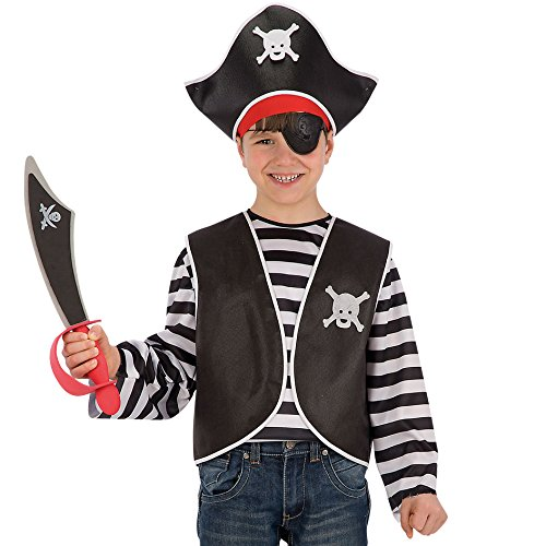 Carnival Toys 6663 - Set Travestimento, Pirata