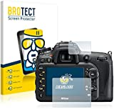 BROTECT AirGlass Flexible Glass Protector for Nikon D7200 Screen Protector Glass - Extra-Hard, Ultra-Light