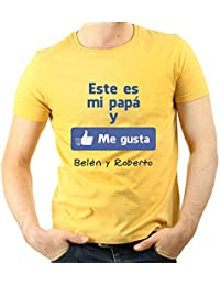 Amazon.es  camisetas personalizadas - Amarillo   Ropa especializada ... b165cd28aba