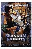 Shanghai Knights Movie Poster (27,94 x 43,18 cm)