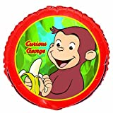 Curious George 18in Balloon