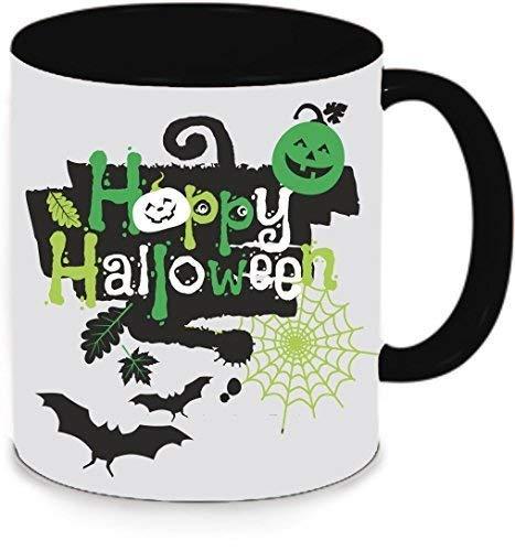 Livingstyle & Wanddesign Tasse Trinkbecher Kaffeetasse Teetasse Halloween Happy Halloween (Motiv 5, ()
