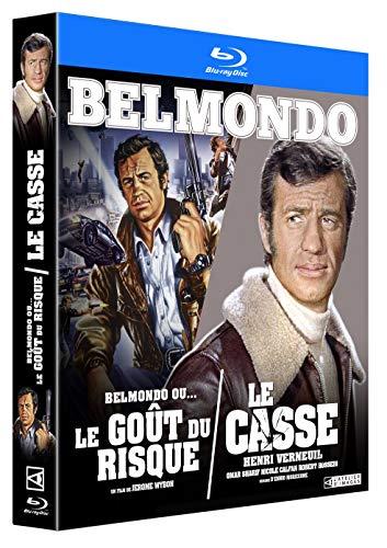 Coffret belmondo : le casse ; belmondo ou le goût du risque [Blu-ray] [FR Import] -