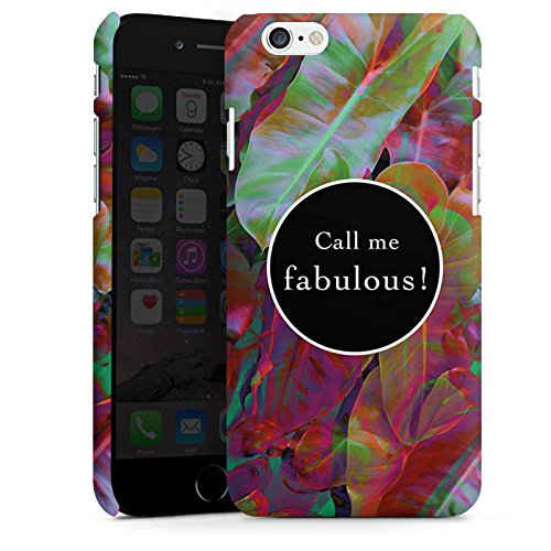 Apple iPhone X Silikon Hülle Case Schutzhülle Fabulous Bunt Statement Premium Case matt