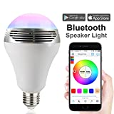 Magic Hue Speaker Smart Lampe dimmbar Sunrise Neu Farbige Leuchtmittel LED Bluetooth Lampe...