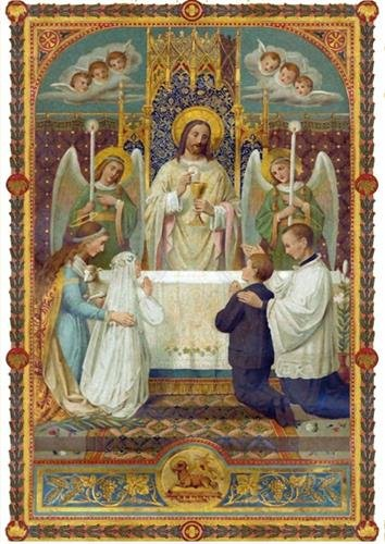 Image sainte Ma 1ère communion par Nc