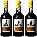 Sandeman Fine Tawny Porto Sherry (3 x 0.75 l)