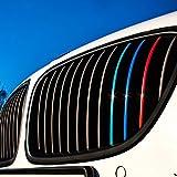 Wandkings, adesivi riflettenti per griglie auto frontali, colori blu scuro, rosso, bianco/argento, azzurro