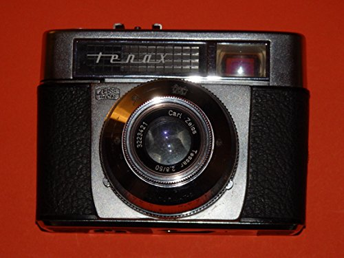 FOTOTECHNIK by LLL Kamera ## ZEISS IKON tenax - Verschluss PRONTORMAT-S PRONTOR mit Objektiv Carl Zeiss Tessar 2.8/50 - analoge Sucherkamera Bj. ca. 1960## Sammlerstück - by LLL ## -