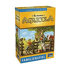 Lookout Games 22160085-Agricola, Familia Juego de Uwe Rose Montaña