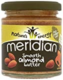 Meridian Foods Smooth Almond Butter (Mandelbutter) 170 Gramm