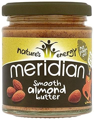 Meridian Foods Smooth Almond Butter (Mandelbutter) 170 Gramm