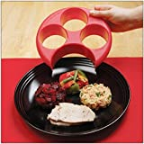 CSL Meal Measure Portion Control Plate Healthy Eating Slimming Diet Aid Dishwasher Safe