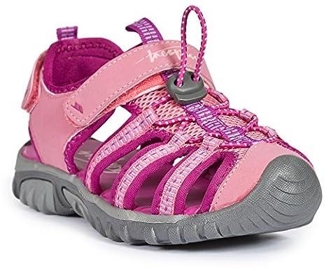 Trespass Unisex Kids' Nantucket Closed-Toe Sandals, Pink (Cotton Candy), 13 UK 32 EU