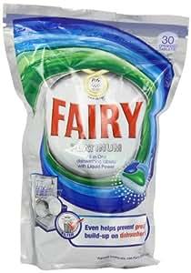 Fairy Platinum Original Dishwash Tablets 30 Washes