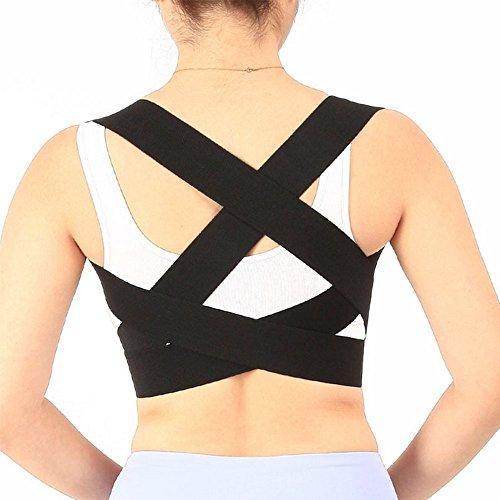Rückenstabilisator, Schlüsselbein ocool Bandage Straightener für die oberen Rücken Schulter Vorwärts Kopf Hals Hilfe, verbessern und Fix Schlechter Haltung