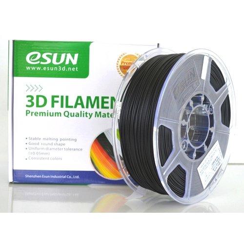 ESUN Imprimante 3d Filament PETG 1,75mm 1kg Noir