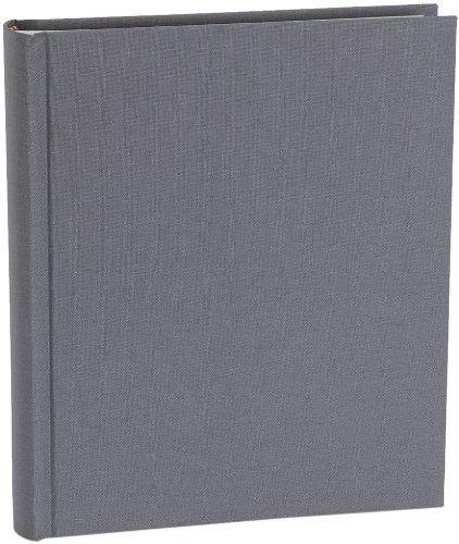 Semikolon Album Medium grey (grau) | Foto-Album mit 80 Seiten und hochwertigem Buchleinen-Bezug |...