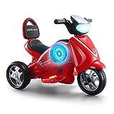 MEILA Kinderspielzeug Baby Dreiräder Mavericks Spielzeugautos Kinder können sitzen Menschen Jungen Laden Motorräder Elektrische Motorräder Mit Scheinwerfern Und Akustikeffekten Für Kinder Elektrorolle