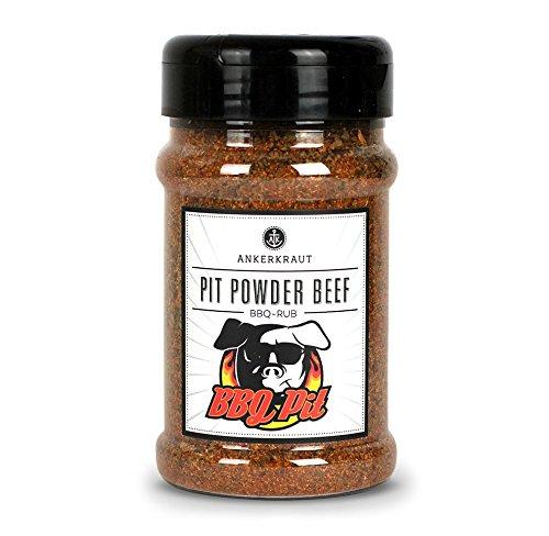 Pit Powder Beef, Brisket Rub im Streuer, 200gr