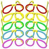 10 Knicklichter Pilotenbrillen Leucht- Brillen 5-FARBMIX, Testnote: 1,4 'SEHR GUT', Komplett-Set