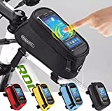 Bicycle Cycling Frame Pannier Bag Front Tube