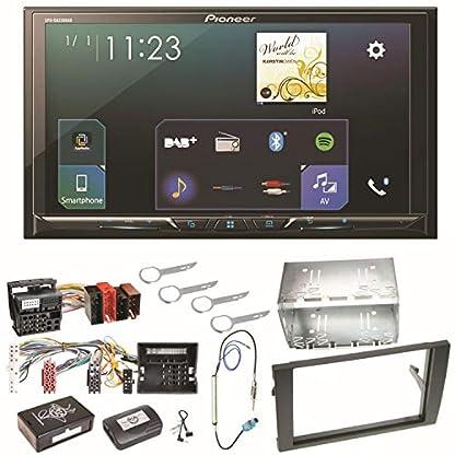 Pioneer-SPH-DA230DAB-Bluetooth-Digitalradio-Carplay-Android-Auto-USB-MP3-Autoradio-Einbauset-fr-Audi-A4-B7-Seat-Exeo