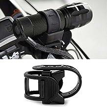 HuntGold 1X luz contenedores 360 ¡ã de rueda de bicicleta plegable soporte continua rotación (