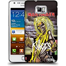 Official Iron Maiden Killers Album Covers Hard Back Case for Samsung Galaxy S2 II I9100