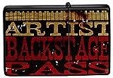 M.A. Allen Encendedor De Gasolina Impreso Recargable Artista Backstage Pass