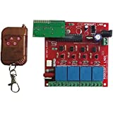 Robosoft Labs RF (Radio Frequency) 5 Ch Remote Control Wireless Home Automation I.e. Lights / Fans On / Off Module
