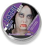 Aqua-Schminke in Theaterqualität, mehrere Farben, Fasching + Halloween (Zombie-grau)