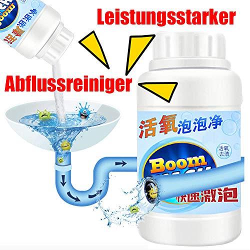 Leistungsstarker Abflussreiniger Küchenabflussreiniger sinken Deodorant Sauerstoff-Blasen-Reiniger schnell Schaumreiniger Toilette sauberes Wasse Rohrreinigungszubehör (A1)