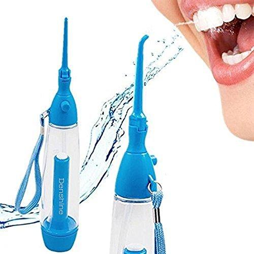 Carejoy Irrigador Dental Portátil spa Cuidado Dental Profesional Impermeable --Limpieza de los Dientes Oral --dientes sanos limpiador
