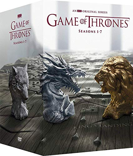 Studio1 Game of Thrones: Complete Series Seasons 1-7 DVD Box Set (A Game Of Thrones Dvd Box-set)