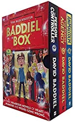 Blockbuster David Baddiel Box 3 Books Set Collection The Parent Agency ...