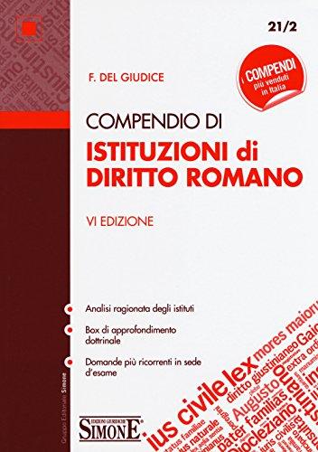 Compendio di istutuzioni di diritto romano