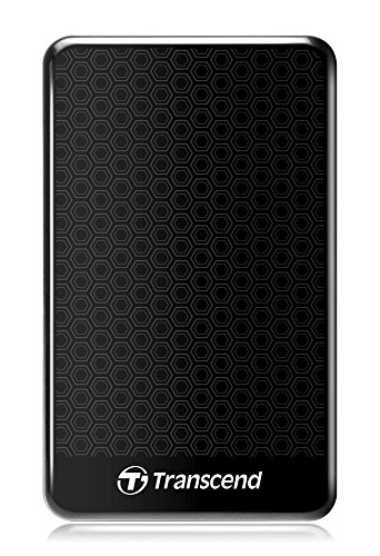 Transcend Storejet A3 External Festplatte 1TB (6,4 cm (2,5 Zoll), 5400rpm, USB 3.0) schwarz
