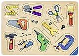 Ravensburger-03668-Meine-Werkzeuge-10-Teilig-Holzpuzzle