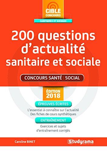 200 questions d'actualit sanitaire et sociale