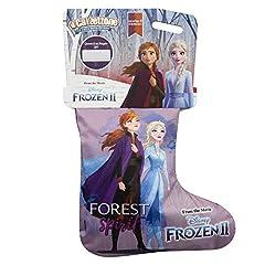Idea Regalo - Giochi Preziosi- Calza della Befana con Sorprese Calzettone Disney Frozen 2, Multicolore, CAF00000