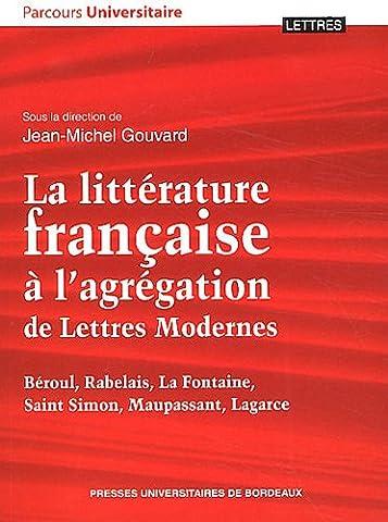 La littérature française à l'agrégation de Lettres Modernes : Béroul,