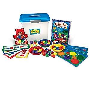 Learning Resources- Set de clasificación, Patrones y Juegos de la Familia de los Tres Osos, Color (LER0757)