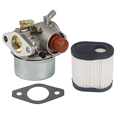 OuyFilters Carburetor for Tecumseh 640271 640303 640274 640338 LEV100 LEV120 Toro Recycler 20016 with Air Filter for Tecumseh 36905 740083A -