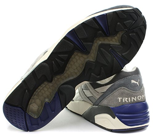 Puma R698 Uomo Sneaker limestone gray-steel gray