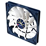 TITAN X 7 12015H12ZP/KE (RB) Fan 120 x 120 cm x 15 mm, Extreme Silent Fan with PWM Quiet Black
