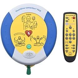 Heartsine PAD 500 Défibrillateur Trainer avec télécommande et électrodes d'entraînement de rechange
