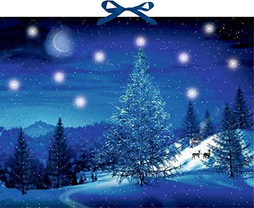 Wandkalender mit Licht - Winterzauber